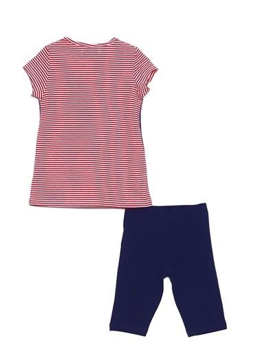 Silversun Kids Kız Çocuk Baskılı Kısa Kollu Tişört Tayt Takım !Kt 216121 Kırmızı